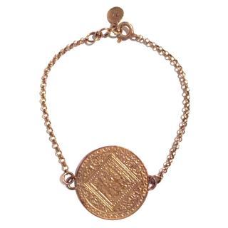 Monica Vinader Marie gold plated bracelet