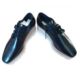 Stella McCartney Black Elyse Lace up shoes