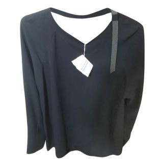 Brunello Cucinelli Black formal top