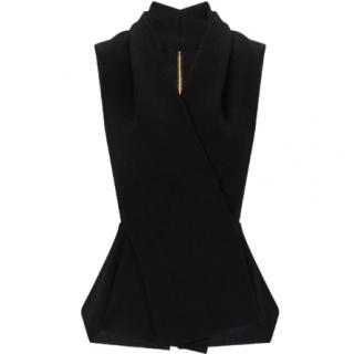 Roland Mouret 'Zillow' Wool-Crepe Top