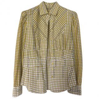 Paul Smith Yellow Patterned Shirt