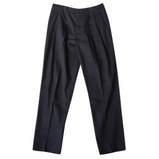 Jospeh navy tailored trousers