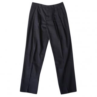 Jospeh navy tailored trousers