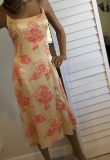 Carmen Marc Valvo dress UK size 16