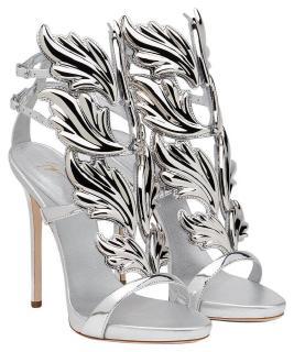 Giuseppe Zanotti silver 'cruel' sandals