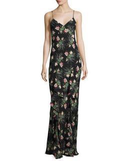 Vilshenko 'Evie' Silk Crepe De Chine Gown
