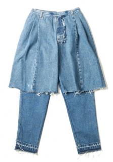 Ksenia Schnaider Denim-Denims Reworked Jeans