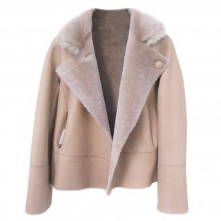 88 & Half reversible shearling jacket