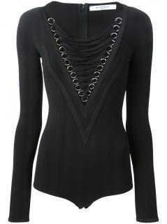 Givenchy Lace-up Bodysuit