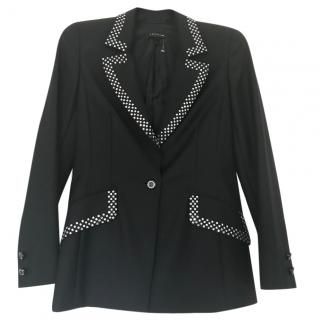 Escada Wool Embellished Blazer