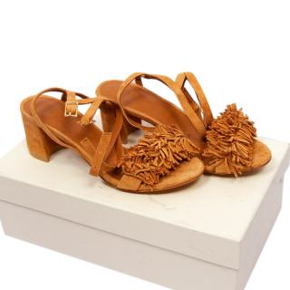 By Far Fringed Sandals