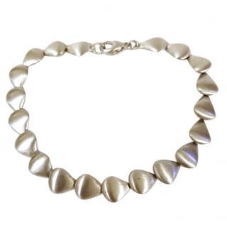 Paul Spurgeon Cornerstone Silver Satin Cradle Bracelet