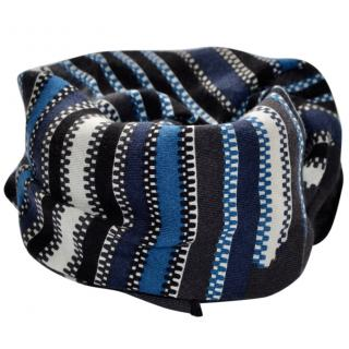 Bottega Veneta runway cashmere-silk striped scarf