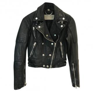 Burberry Brit Biker Leather Jacket