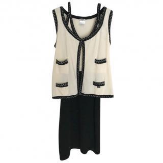 Chanel cashmere twin set