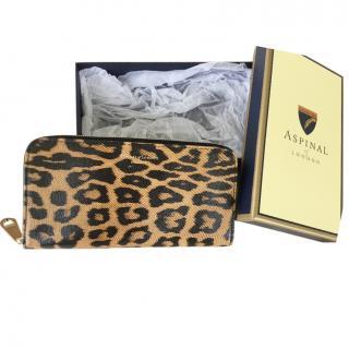 Aspinal leopard print purse