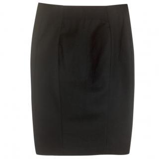 Acne Black Pencil Skirt
