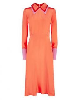 Roksanda Etsy Contrast Collar Dress