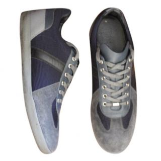 Christian Dior Suede and Fabric Sneakers