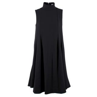 Yves Saint Laurent Black Trapeze Dress