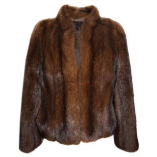 Bespoke Sable Fur Coat
