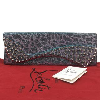 Christian Louboutin Pigalle Spikes Clutch
