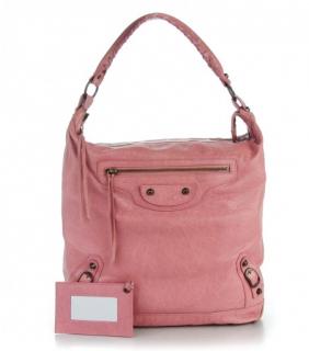 Balenciaga Pink Day Leather bag