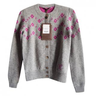 Louis Vuitton Wool & Cashmere Cardigan