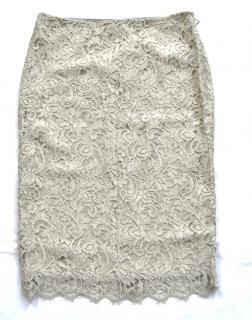 Ralph Lauren Black Label lace pencil skirt