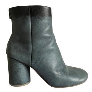 Maison Margiela calfskin socks ankle boots