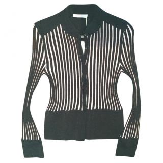 J W Anderson Striped Lurex Cardigan