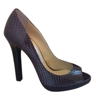 Jimmy Choo Elaphe Snake Shoes