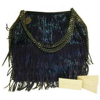 Stella McCartney Blue Fringed Small Falabella Tote