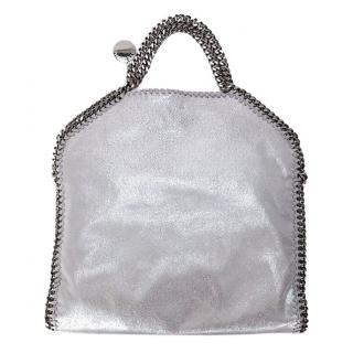 Stella McCartney Small Silver Falabella Tote