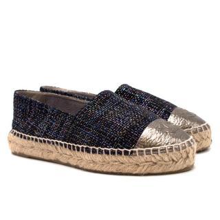Chanel Tweed Espadrilles