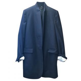 Stella Mccartney Navy Single Breasted Jacket