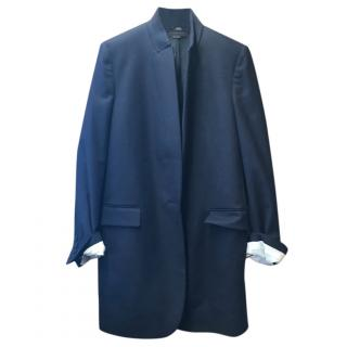 Stella Mccartney Navy Single Breasted Jacket