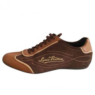 Louis Vuitton brown sneakers