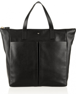 Anya Hindmarch Nevis Zipped Leather Tote