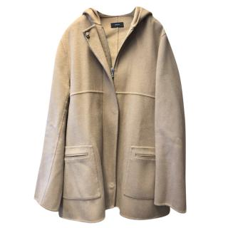 Joseph hooded wool & cashmere jacket