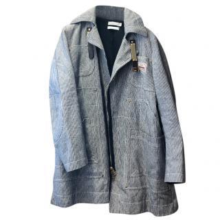Altuzarra Blue & White Striped Jacket