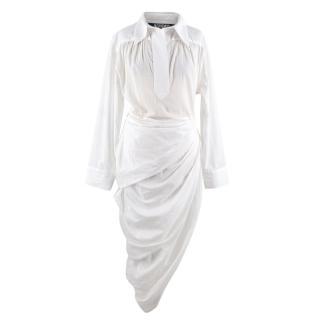 Jacquemus La Robe Amadora White Shirt Dress