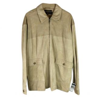 Tommy Hilfiger Golf Suede Leather Jacket