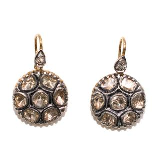 Bespoke Indian Gold Set Earrings