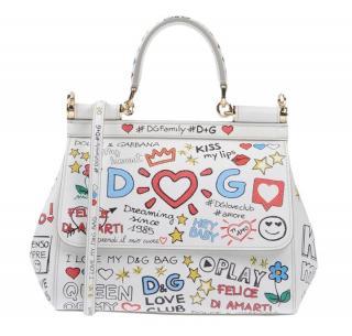 Dolce & Gabbana Miss Sicily Graffiti Bag