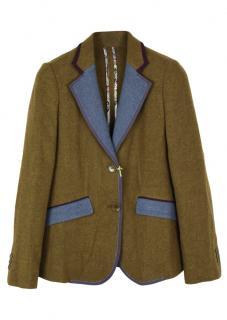 Etro wool single breasted jacket