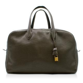 Hermes Victoria Togo Leather Travel Bag