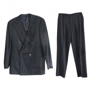 Armani Collezioni black  super150's wool suit