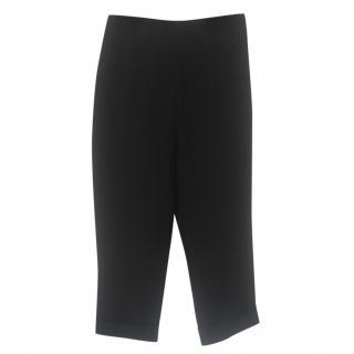 Miu Miu Black Cropped Trousers