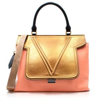 Vionnet Mosaic Top Handle Bag
